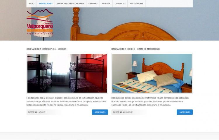 alberguevalporquero.com - Habitaciones