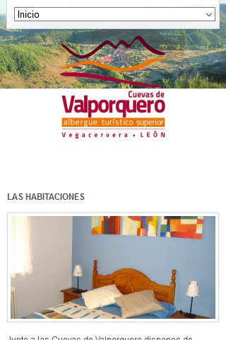 alberguevalporquero.com (móvil) - Inicio