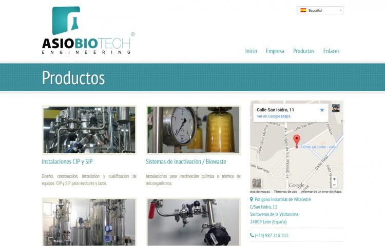 asiobiotech.com - Productos