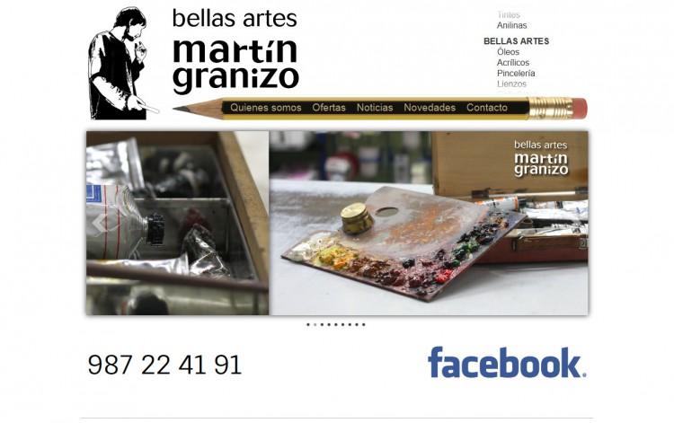 bellasartesmartingranizo.com - Inicio