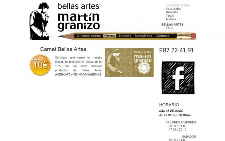 bellasartesmartingranizo.com - Ofertas