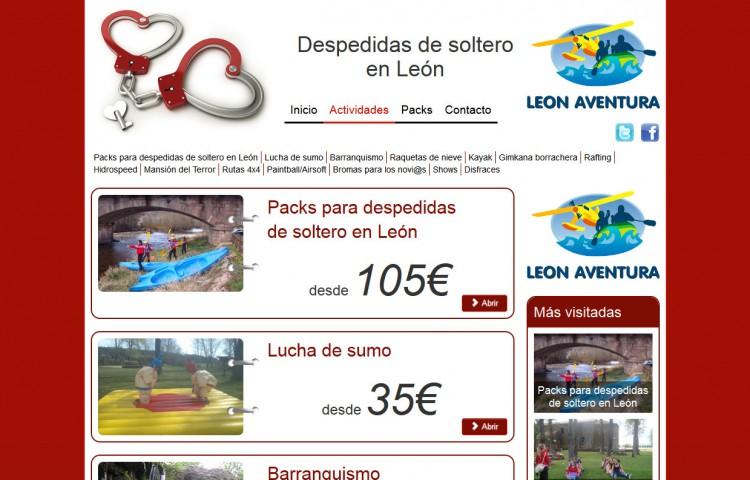 despedidaleon.es - Actividades