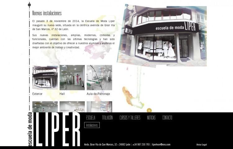 escuelademodaliper.com - Galería