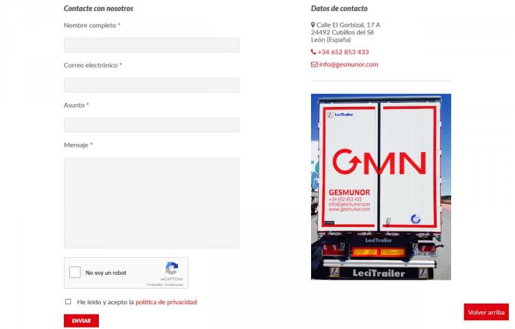 gesmunor.com - Contacto