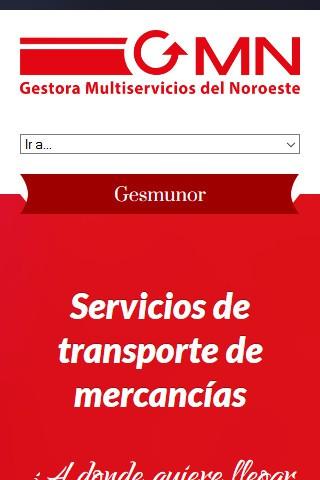 gesmunor.com (móvil) - Inicio