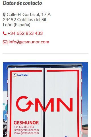 gesmunor.com (móvil) - Contacto