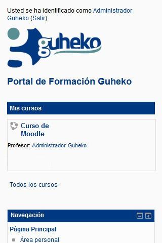 guheko.es (móvil) - Inicio