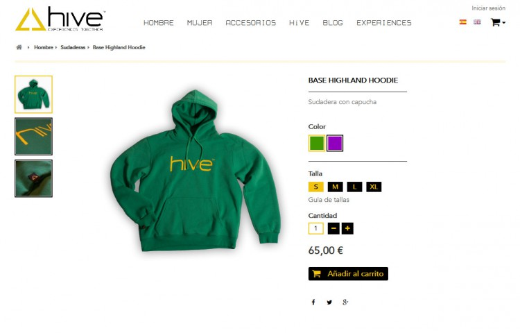 hiveclothing.com - Producto