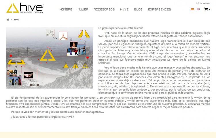 hiveclothing.com - Página