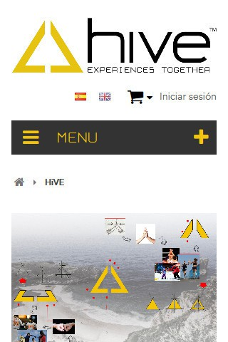 hiveclothing.com (móvil) - Página