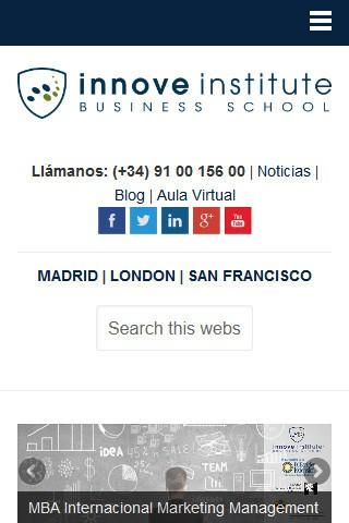 innoveinstitute.com (móvil) - Inicio