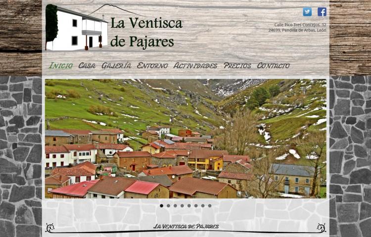 laventiscadepajares.com - Inicio