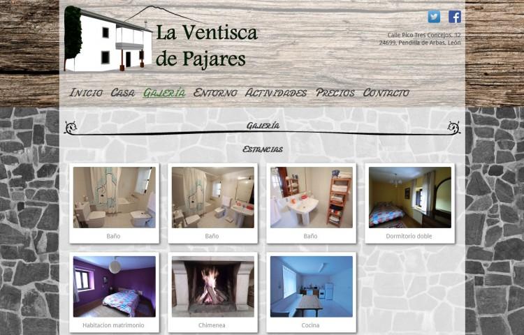 laventiscadepajares.com - Galería
