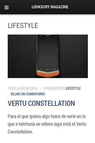 lookxury.es - Categoría (móvil)