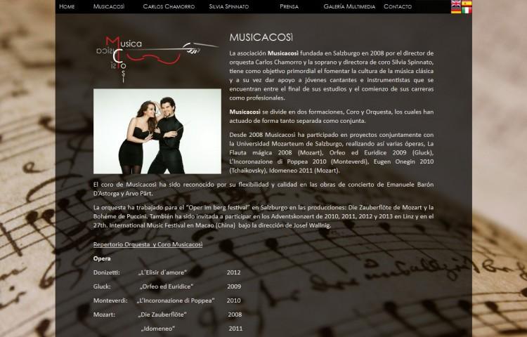 musicacosi.com - Página