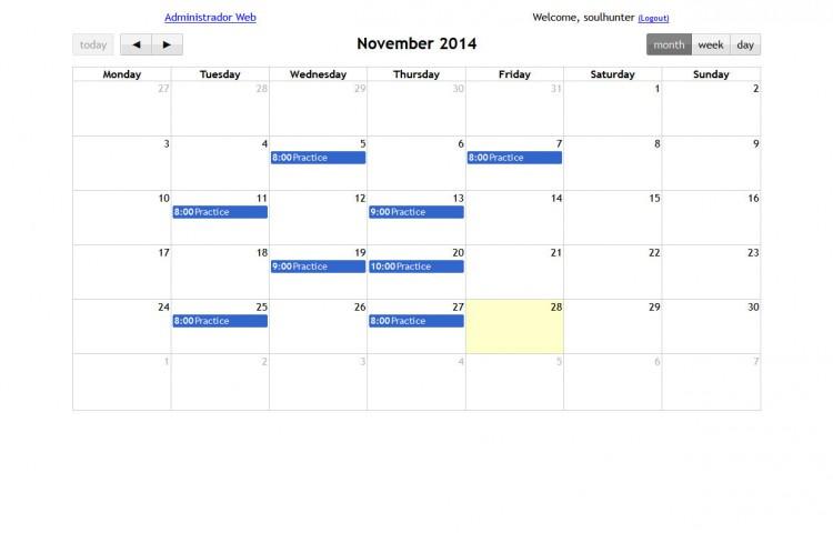 musicacosi.com - Calendario