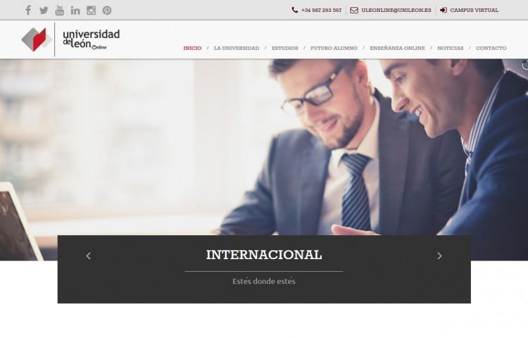 online.unileon.es - Portada
