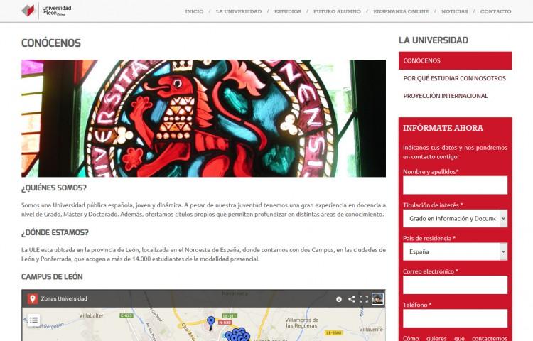 online.unileon.es - Página