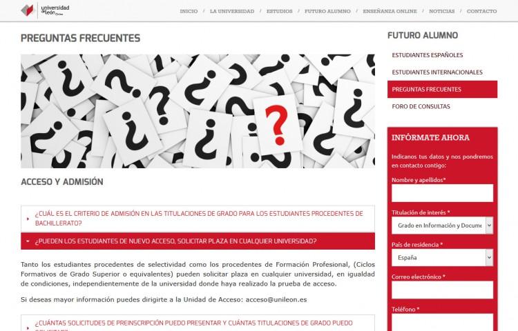 online.unileon.es - Página con ampliación