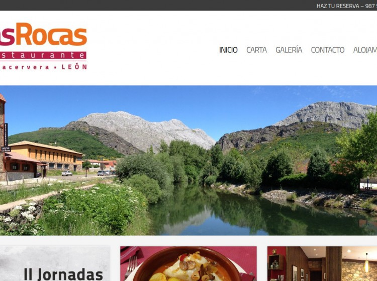 restaurantelasrocasvegacervera.com - Inicio