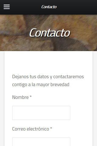 restaurantelasrocasvegacervera.com (móvil) - Contacto