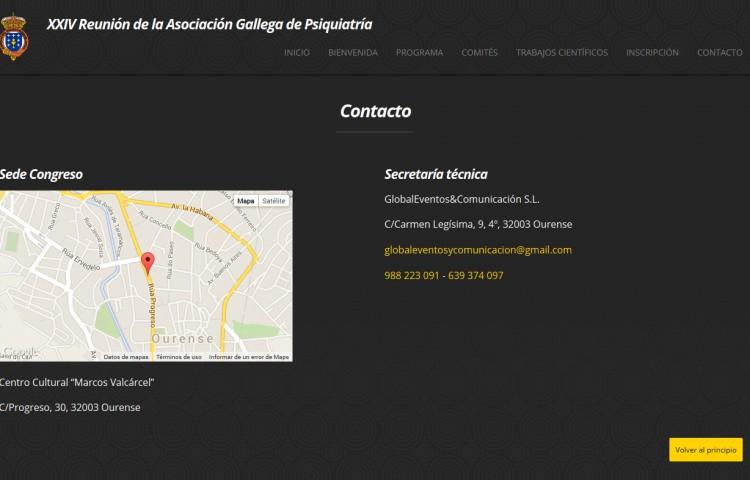 reunion2014.psiquiatriagallega.org - Contacto
