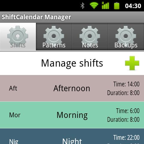 ShiftCalendar - Gestor de turnos